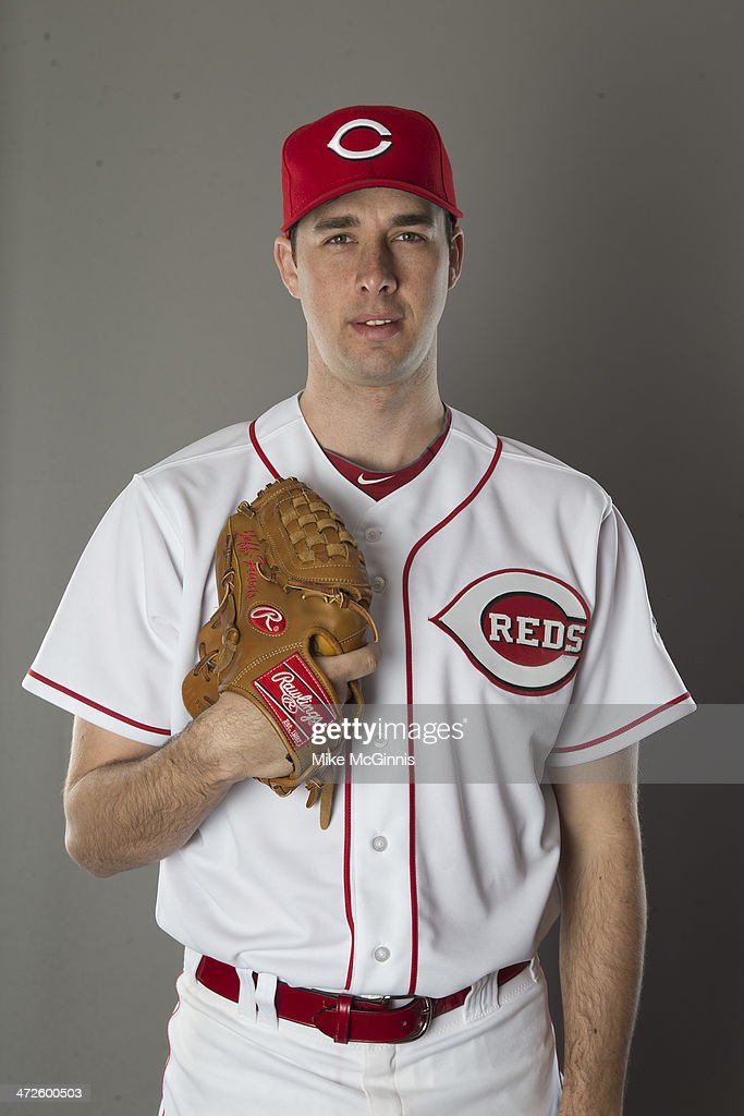 Jeff Francis of the Cincinnati Reds poses during picture day on February 20 2014 at Goodyear Park in Goodyear Arizona