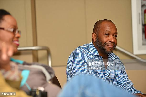 Jeff Friday attends a master class series A Conversation with Chris Spencer conducted by Miami Film Life Center at Camillus House on January 25 2014...