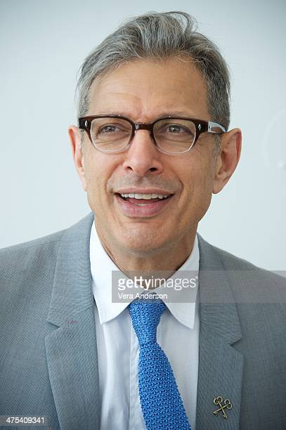 Jeff Goldblum at 'The Grand Budapest Hotel' Press Conference at the Crosby Hotel on February 26 2014 in New York City