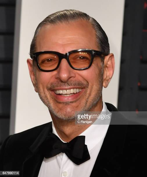 Jeff Goldblum attends the 2017 Vanity Fair Oscar Party hosted by Graydon Carter at Wallis Annenberg Center for the Performing Arts on February 26...