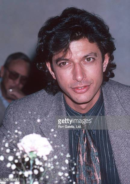 Jeff Goldblum during Premiere Party for 'Transylvania 65000' October 30 1985 at Cafe St Tropez in New York City New York United States