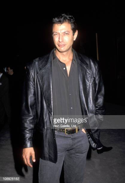 Jeff Goldblum during 'The Player' Los Angeles Premiere at The Director's Guild in Hollywood California United States