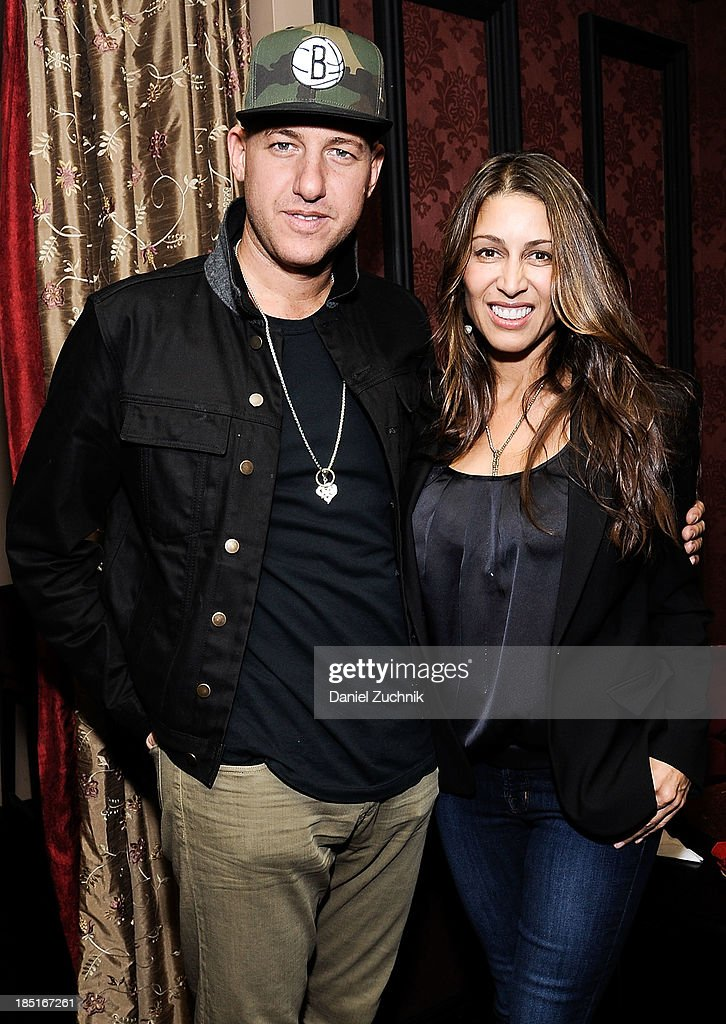 Jeff Goldstein and Shamin Abas attend Kelly Bensimon's 'In The Spirit Of' fragrance launch event at Cherry on October 17, 2013 in New York City.