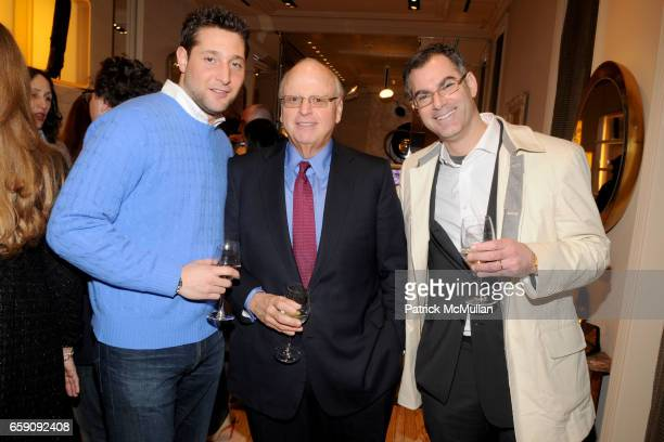 Jeff Goldstein Howard Lorber and Adam Silberman attend ROGER VIVIER'S BRUNO FRISONI and AMANDA BROOKS Host Cocktail Party to Launch French Riviera...