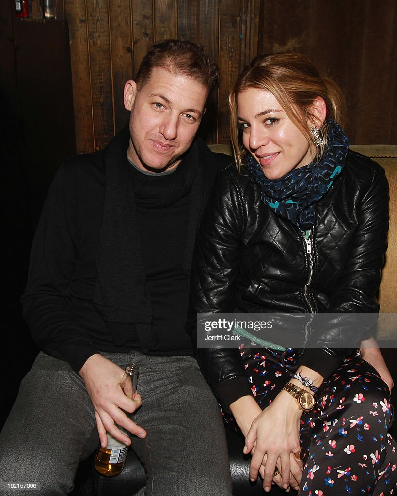 Jeff Goldstein of Blue and Cream and <a gi-track='captionPersonalityLinkClicked' href=/galleries/search?phrase=Dani+Stahl&family=editorial&specificpeople=589555 ng-click='$event.stopPropagation()'>Dani Stahl</a> attend the Charlotte Ronson After Party during Fall 2013 Fashion Week at 1 Oak on February 8, 2013 in New York City.