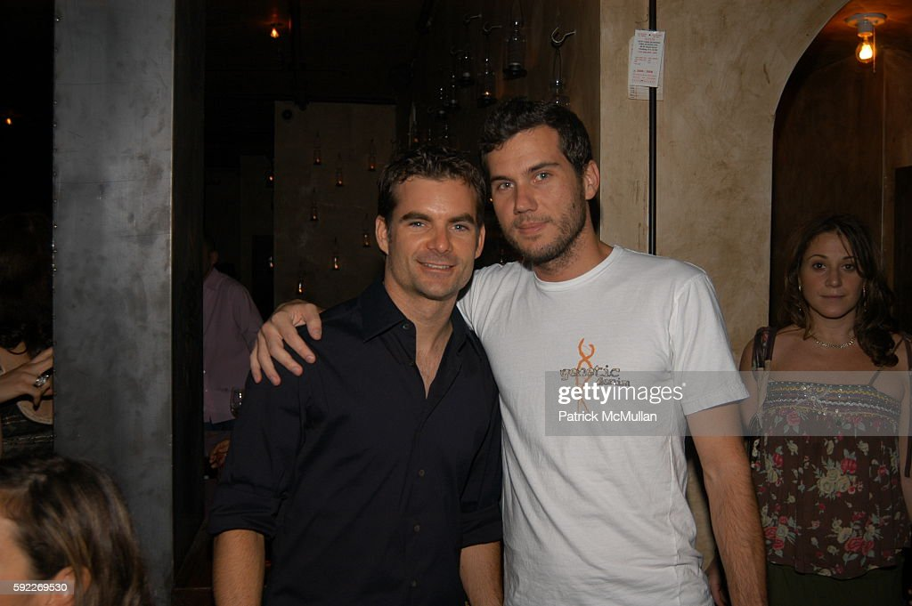 Jeff Gordon and Scott Sartiano attend Opening of LOFT at Loft on September 26 2005 in New York City