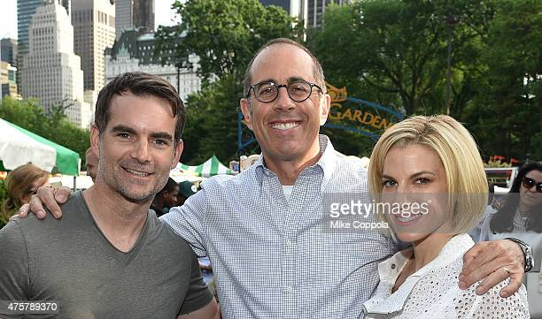 Jeff Gordon Event Host Jerry Seinfeld and Baby Buggy Founder Event Host Jessica Seinfeld attend the 2015 Baby Buggy Bedtime Bash hosted by Jessica...