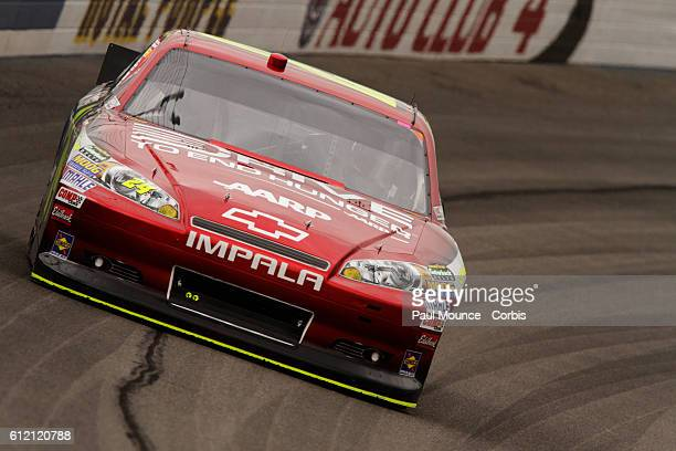 Jeff Gordon in the Drive To End Hunger Chevrolet during practice for the NASCAR Sprint Cup Series Auto Club 400