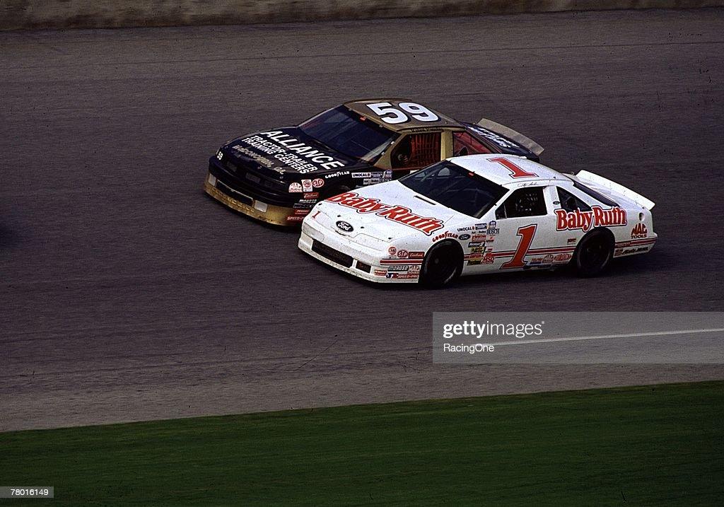 Jeff Gordon's early 1990s Busch Series car