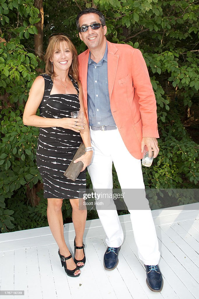 Jeff Grant and and Stacy Isenhower attend Celebrity Matchmaker, Samantha Daniels Hosts Cocktails For NYC Mayoral Candidate, Jack Hidary on August 17, 2013 in Wainscott, New York.