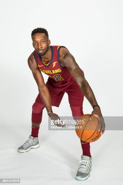 Jeff Green of the Cleveland Cavaliers poses for a portrait during 201718 NBA Media Day on September 25 2017 at Quicken Loans Arena in Cleveland Ohio...