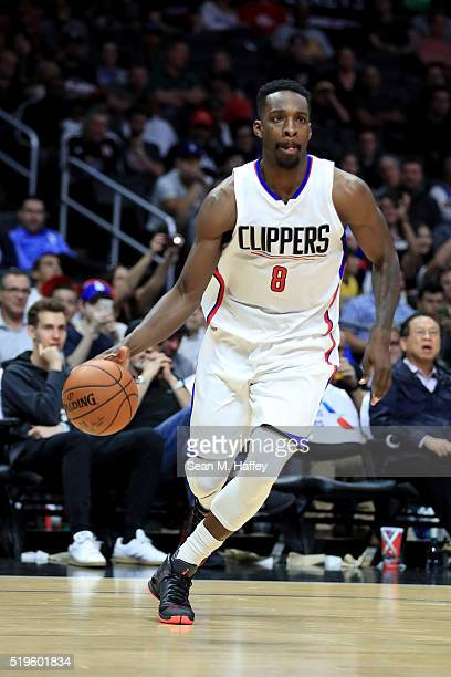 Jeff Green of the Los Angeles Clippers during an NBA game between Los Angeles Clippers vs Los Angeles Lakers April 5 2016 at Staples Center in Los...