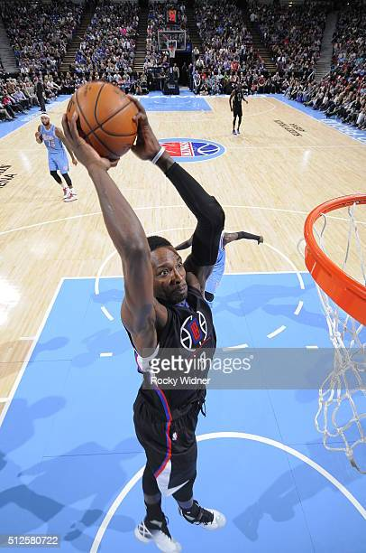Jeff Green of the Los Angeles Clippers shoots the ball against the Sacramento Kings at Sleep Train Arena on February 26 2016 in Sacramento California...