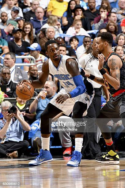 Jeff Green of the Orlando Magic handles the ball against the Atlanta Hawks on January 4 2017 at Amway Center in Orlando Florida NOTE TO USER User...