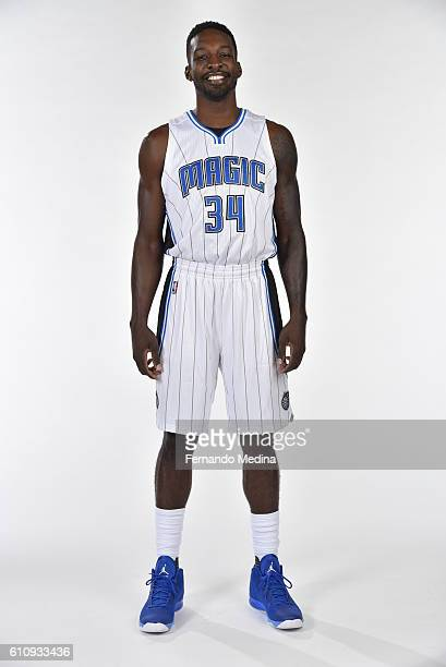 Jeff Green of the Orlando Magic poses for a portrait during NBA Media Day on September 26 2016 at Amway Center in Orlando Florida NOTE TO USER User...