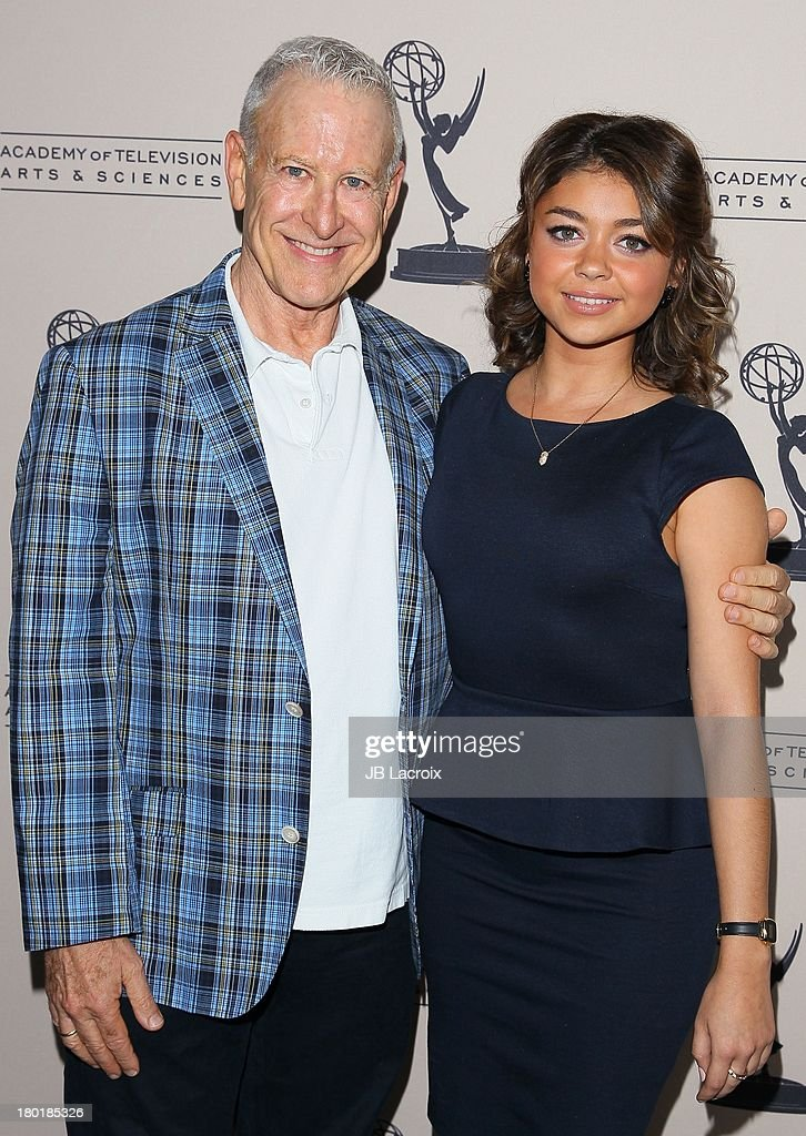 Jeff Greenberg And Sarah Hyland Attend The Academy Of Television Arts U0026  Sciencesu0027 Casting Directors