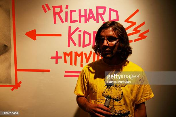 Jeff Halladay attends RICHARD KIDD Presents BOILING DOWN THE 80's Opening Reception at Dactyl on July 19 2007 in New York City