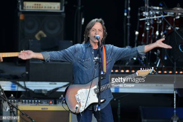 Jeff Hanna of the Nitty Gritty Dirt Band performs during The Rocky Mountain Way honoring inductee's into the Colorado Music Hall of Fame event at...