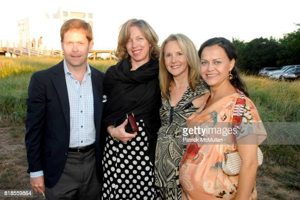 Jeff Hansen Florence Mauchant Marla Sabo and Sylvia Rodriguez attend GUILD HALL SUMMER GALA CELEBRATING THE OPENING OF THE BARBARA KRUGER EXHIBITION...