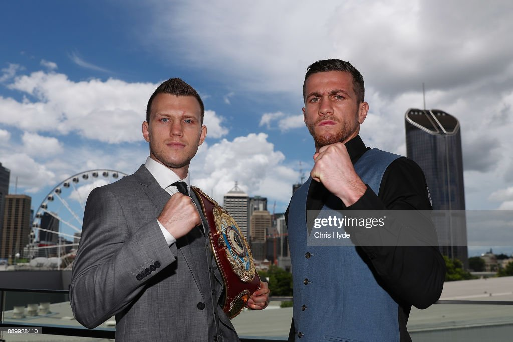 Jeff Horn v Gary Corcoran: Press Conference