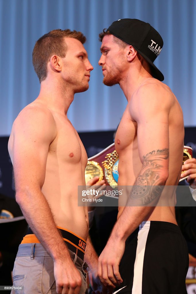 Jeff Horn v Gary Corcoran: Official Weigh In