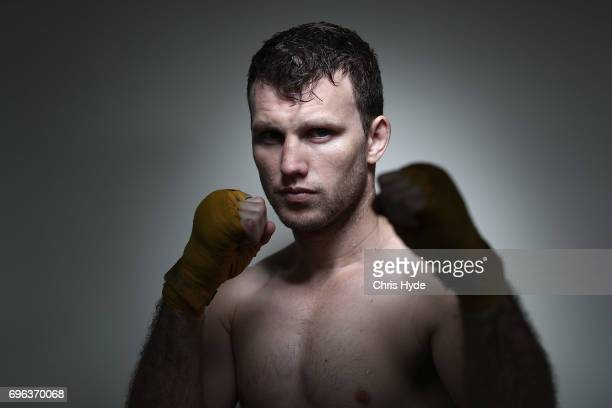 Jeff Horn poses during a training session on June 15 2017 in Brisbane Australia