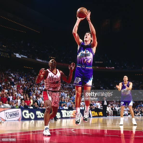 Houston Rockets Vs Utah Jazz: Mario Elie Stock Photos And Pictures