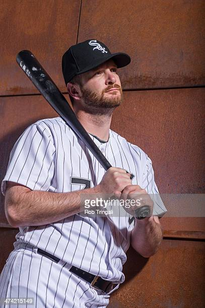 Jeff Keppinger of the Chicago White Sox poses for a portrait on photo day at the Glendale Sports Complex on February 22 2014 in Glendale Arizona