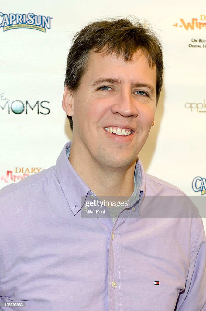 Jeff Kinney attends 'Diary Of A Wimpy Kid: Dog Days' DVD Release Launch Event at apple seeds on December 15, 2012 in New York City.