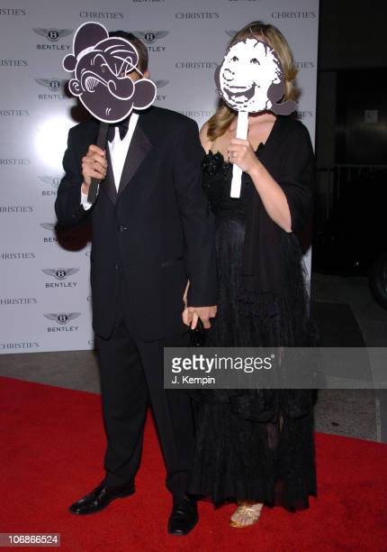 Jeff Koons and Justine Koons during Christie's Celebrates the 40th Anniversary of Truman Capote's Black and White Ball with Gala Recreation at...