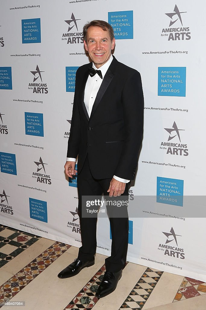 Jeff Koons attends the 2015 National Arts Awards at Cipriani 42nd Street on October 19, 2015 in New York City.