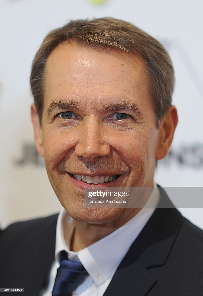 <a gi-track='captionPersonalityLinkClicked' href=/galleries/search?phrase=Jeff+Koons&family=editorial&specificpeople=220233 ng-click='$event.stopPropagation()'>Jeff Koons</a> attends the H&M Flagship Fifth Avenue Store launch event at H&M Flagship Fifth Avenue Store on July 15, 2014 in New York City.