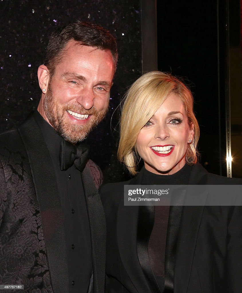 Jeff Leatham (L) and Jane Krakowski attend the Bloomingdale's 59th Street Store on November 18, 2015 in New York City.