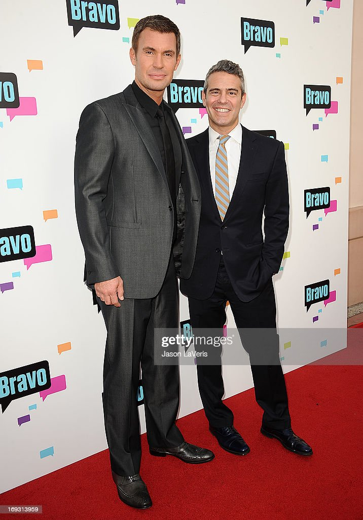 Jeff Lewis and Andy Cohen attend Bravo Media's 2013 For Your Consideration Emmy event at Leonard H. Goldenson Theatre on May 22, 2013 in North Hollywood, California.