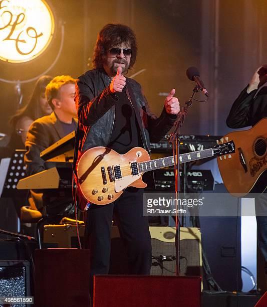 Jeff Lynne is seen at 'Jimmy Kimmel Live' on November 23 2015 in Los Angeles California