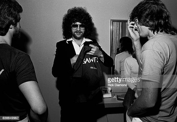 Jeff Lynne of ELO and guests attend press reception at the Peachtree Plaza in Atlanta Georgia July 06 1978