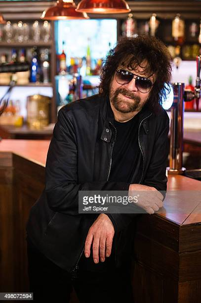 Jeff Lynne of ELO during a live broadcast of 'TFI Friday' on November 20 2015 in London England