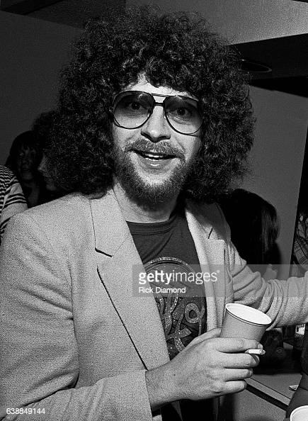 Jeff Lynne of ELO press reception at the Peachtree Plaza in Atlanta Georgia July 06 1978