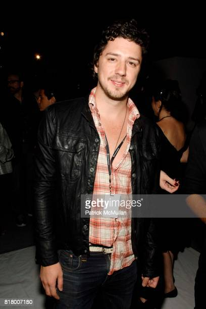Jeff Marsilio attends Richie Rich 2011 Fashion Show at The Studio at Lincoln Center on September 9 2010 in New York City