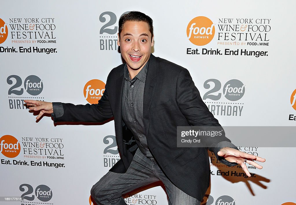 Jeff Mauro attends Food Networks 20th birthday celebration at Pier 92 on October 17, 2013 in New York City.