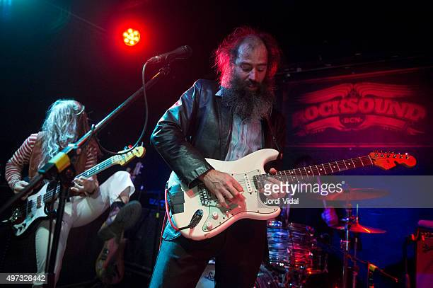 Jeff Mcelroy and Ethan Miller of Howlin Rain perform on stage at Rocksound on November 15 2015 in Barcelona Spain