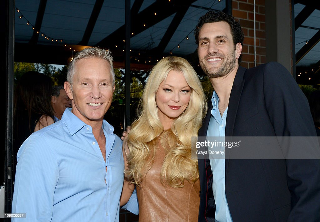 Jeff Olde, actress <a gi-track='captionPersonalityLinkClicked' href=/galleries/search?phrase=Charlotte+Ross&family=editorial&specificpeople=217600 ng-click='$event.stopPropagation()'>Charlotte Ross</a>, and creator/executive producer James LaRosa attend VH1's 'Hit The Floor' screening at Tiato on May 28, 2013 in Santa Monica, California. V_HTF_05_26_13_0310.JPG
