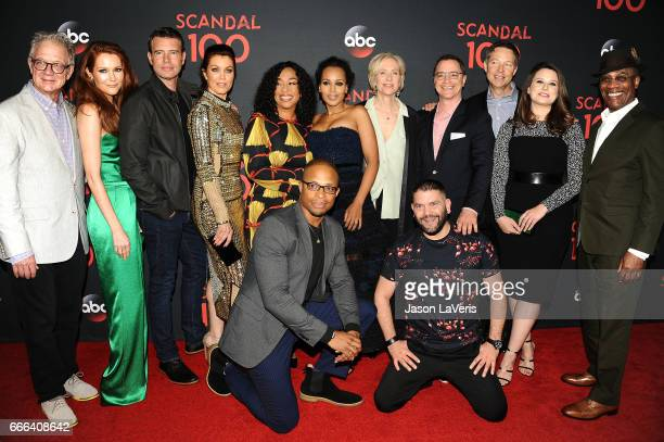 Jeff Perry Darby Stanchfield Scott Foley Bellamy Young Shonda Rhimes Cornelius Smith Jr Kerry Washington Betsy Beers Joshua Malina George Newbern...