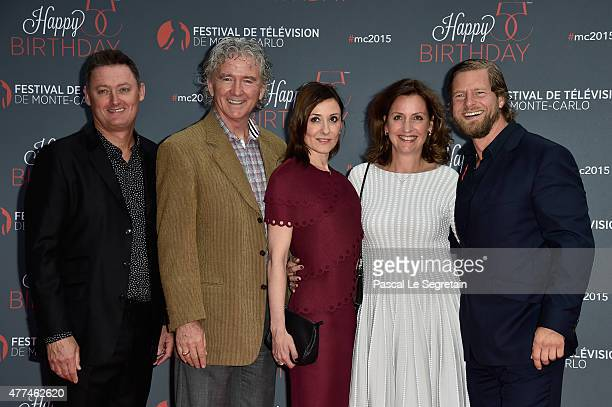Jeff Pope Patrick DuffyCamilla Hammerich Nathalie Poza and Henning Baum attend the 55th Monte Carlo Beach anniversary as part of the 55th Monte Carlo...