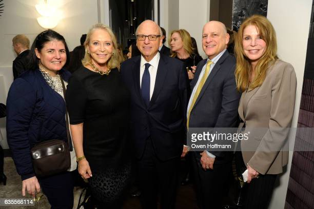 Jeff Rothstein Pamela Nichols Howard Lorber Suzan Kremer and Mary Beth Adelson attend 432 Park Avenue Reveal of the Penthouse Model Residence...