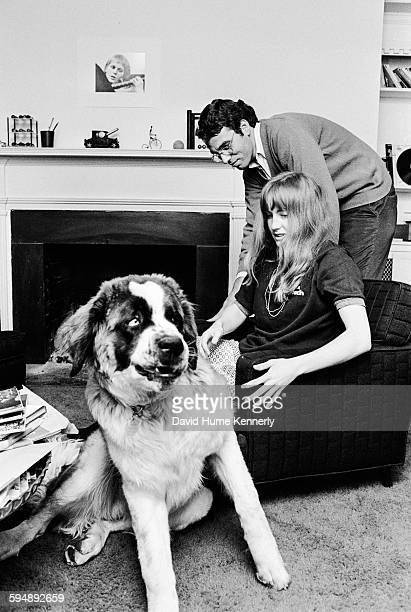 Jeff Shane with his then girlfriend on a visit to photographer David Hume Kennerly's residence circa 1970 in Washington DC