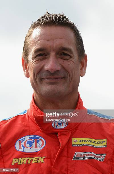 Jeff Smith of Pirtek Racing poses for a portrait during the BTCC Media Day at Donington Park on March 21 2013 in Castle Donington England