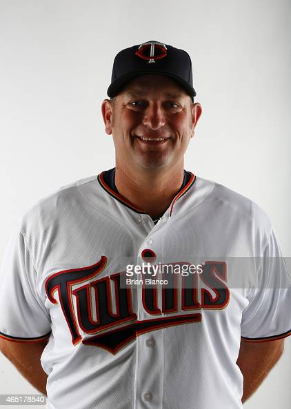 Jeff Smith of the Minnesota Twins poses for a photo during the Twins' photo day on March 3 2015 at Hammond Stadium in Fort Myers Florida