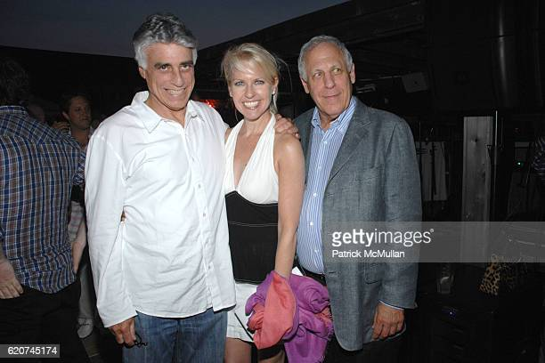 Jeff Stein Monica Crowley and Marvin Rosen attend Joan Jedell's Hampton Sheet Party Celebrating their July Cover Girl Diane Passage at Pink Elephant...