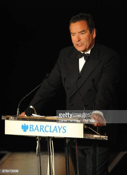 Jeff Stelling at the PFA Player of the Year Awards 2010 at the Grosvenor House Hotel London